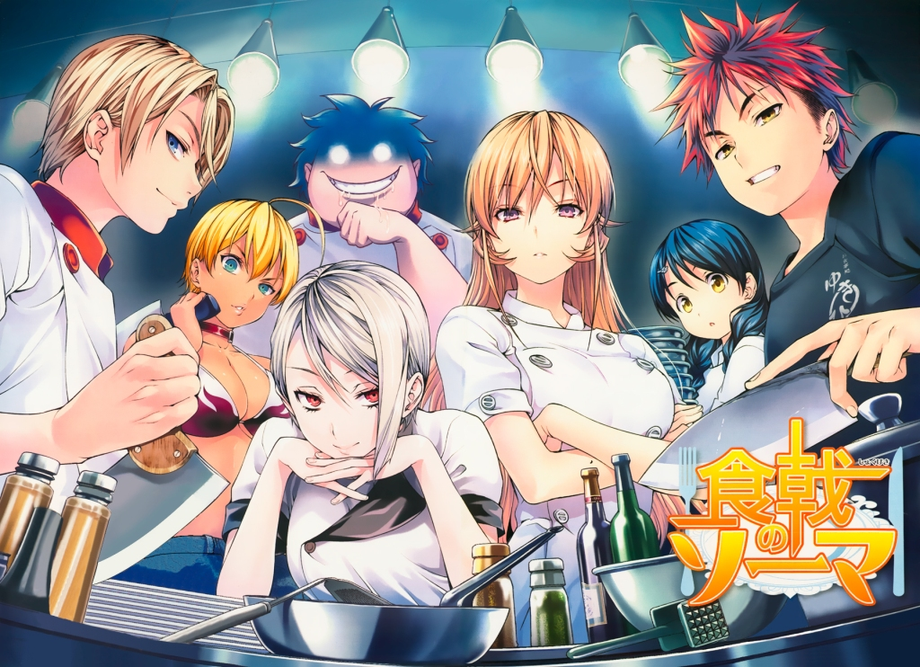 Sources Confirm Second Season of 'Food Wars'