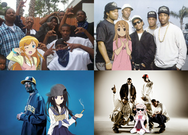 gangstas wit waifus