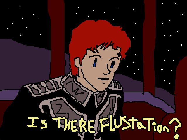 Are you flusterated ms paint ed