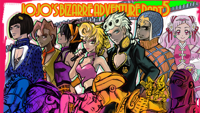 EMPORIA KS After Months Of Speculation Anime Fans Rejoiced Over Official News That Part 5 Jojos Bizzarre Adventure Will Be Given A Full